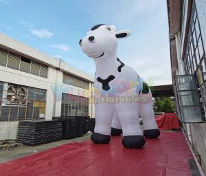 Wholesale Milk Cow Air Characters 0.9mm PVC Advertising Inflatables from china suppliers