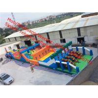 China inflatable obstacle course giant inflatable amusment park on sale