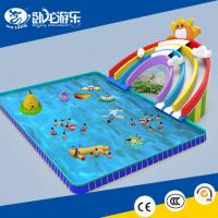 Wholesale Commercial inflatable water park equipment, plastic water park, water park slides for sale from china suppliers