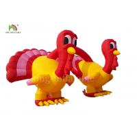 Wholesale Red And Yellow Inflatable Turkey Arches Merry Christmas Thanksgiving Promotion Advertising from china suppliers