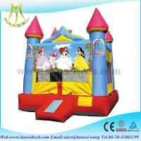 Wholesale Hansel high qualtiy best sale inflatable princess bouncy castle from china suppliers