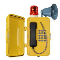 Wholesale Waterproof Industrial VoIP Phone , Reliable Vandal Proof Heavy Duty Telephone from china suppliers