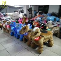 Buy cheap Hansel coin operated walking animal toy cars for Outdoor Amusement Rides from wholesalers