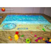 China 450W Virtual Reality Simulator Hologram Sand Pond 3D Video Game Interactive Projection on sale