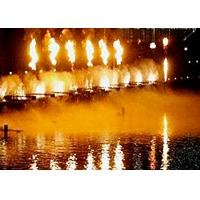 Classic Dubai Singing Fountains , Multi Colored Flaming Water Fountain