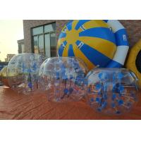 Wholesale Water - Proof Inflatable Ball Soccer , PVC 1.0mm Bubble Soccer Inflatables from china suppliers