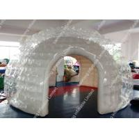 China Outdoor Pvc Inflatable bubble Tent , inflatable lawn tent bubble on sale