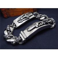 Wholesale High Polish Couple Bracelet Stainless Steel Bracelets For Men'S Jewelry from china suppliers