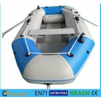 Wholesale 10.8 Ft Portable Inflatable Float Boat Aluminum Floor With 4 Individual Air Chambers from china suppliers