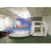 Buy cheap Large Christmas Blow Up Snow Globe Outdoor Decoration CE EN71 EN14960 from wholesalers