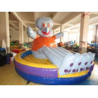 Wholesale Lovely Inflatable Toddler Blow Up Bouncers HD Printing Professional Fixation Design from china suppliers