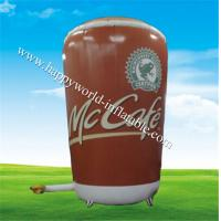 Wholesale Big inflatavble Mc Cafe cup replica from china suppliers