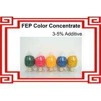 FEP Color Masterbatch/ FEP Color Concentrate / Colored FEP Resin