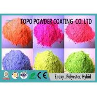 China RAL 2000 Yellow Orange Chemical Resistant Pure Polyester Powder Coating on sale