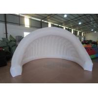 China Light Weight Inflatable Advertising Tent , Outdoor Mobile Event Air Blow Up Tent on sale