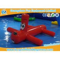 China 0.9mm PVC Inflatable Water Park Games Red Inflatable Dragonfly Water Toys For Children on sale