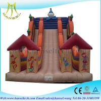 Wholesale Hansel guangzhou inflatable slide ,big inflatable slides ,bouncy castle for sale from china suppliers