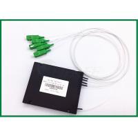 FTTH GEPON EPON plc optical splitter 1x4 Optical Coupler SC / APC