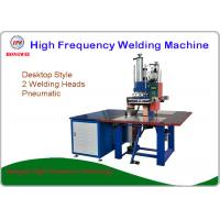 Wholesale 380V / 50 Hz Manual Blister Packing Machine With Two Welding Heads from china suppliers