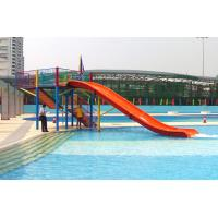 Wholesale Mini Water Park Equipment Fiberglass Swimming Pool Slide For Kids Playground from china suppliers
