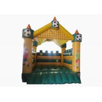 China Football Kids Inflatable Bounce House Castle Digital Printing 4 X 4m For Amusement Park on sale