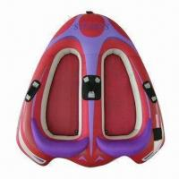China Inflatable water ski tube, can have fun in summer towing behind motorboat on sale