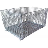 Wholesale Color Storage Rack Container Metal Wire Mesh Container from china suppliers
