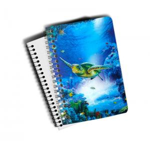 Wholesale 0.6mm Thickness Plastic Cover Spiral 3D Lenticular Notebook 80 Pages A4/A5/A6 Size from china suppliers