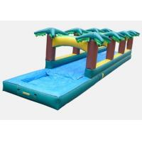 Wholesale inflatable tropical slide ,giant inflatable slip and slide for adult from china suppliers