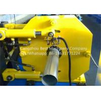 Wholesale Hydraulic Gutter Roll Forming Machine , Steel Rain Down Pipe Making Machine from china suppliers