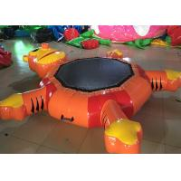 Wholesale Durable Inflatable Aquar Park Water Floating Tiger Trampoline Water Air Inflated Toys from china suppliers