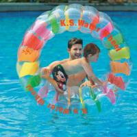 Wholesale Outdoor Inflatable Water Wheel Water Floating Toys Water infalatable Toys for Swimming Pool & Beach from china suppliers