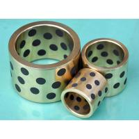 Wholesale Cast Bronze Bearings Strengthening Copper based With Solid Lubricant Plugs from china suppliers