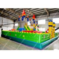 Wholesale BusinessPVC Inflatable Bounce House ,  Disney Children Jump Bed Entertainment City from china suppliers