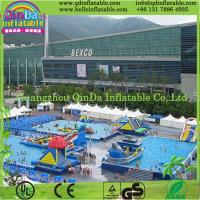Wholesale Portable Amazing Steel Frame Swimming Pool with Welded Water Toys from china suppliers