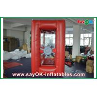 Wholesale 0.4mm PVC Inflatable Money Booth For Outdoor Advertising from china suppliers