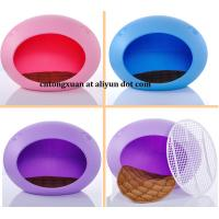 Wholesale Pet Dog Cat Rabbit Bed House Kennel Doggy Warm Cushion from china suppliers