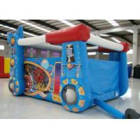 Wholesale Robot Design Bounce House With Slide , Commercial Castle Bounce House 5.7 * 4.7 * 3.7 from china suppliers