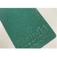 Buy cheap Green Hammer Texture Thermoset Metal Powder Coated Epoxy Polyester Paint from wholesalers