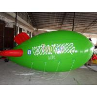 Wholesale Big outdoor Helium Blimp inflatable advertising ground balloon with 0.18mm - 0.2mm PVC from china suppliers