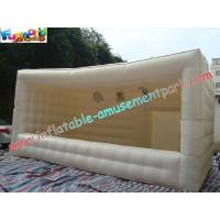 Quality Outdoor Inflatable Party Tent , White Advertising Large Inflatable Tent for sale