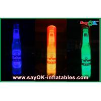 China Advertising LED Inflatable Pillar , Inflatable Lighting Column Decoration With Logo Printing on sale