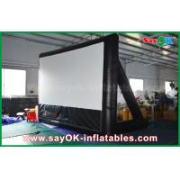 Wholesale 7mLx4mH Inflatable Movie Screen PVC Material WIth Frame For Projection from china suppliers