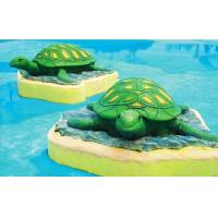 Wholesale Aqua Play Equipment Sea Theme Fiberglass Turtle Aqua Blue Water Park For Children from china suppliers