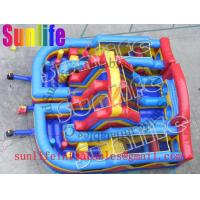 Wholesale hot sell inflatable jumper slide combo com093 from china suppliers