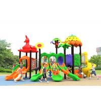 China Outdoor Childrens Plastic Playground Winter Protect Plastic Swing And Slide Set on sale