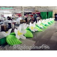 Wholesale Hot Sale Inflatable Flower Chain with Blower for Wedding Decoration from china suppliers