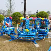Buy cheap Family Backyard Ocean Theme Roller Coaster Amusement Park Rides 1.65m Height from wholesalers