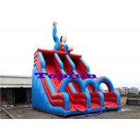 Wholesale Hero Designing Inflatable Water Slide Double Lanes Slide Kids Outdoor Fun from china suppliers
