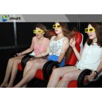 Flexible Truck Electric System 5D Movie Theater / 5D Cinema Chair